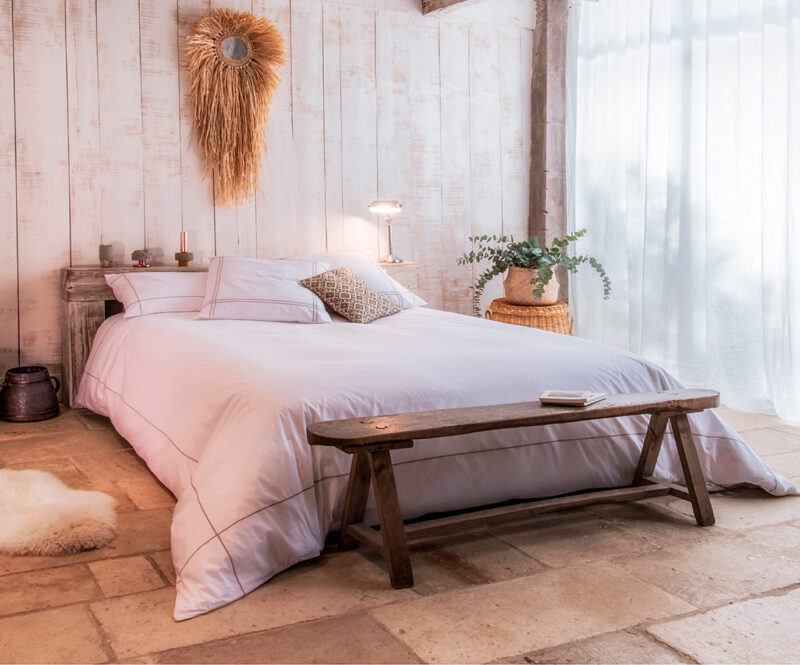 Aigredoux - Linge de lit de luxe made in France