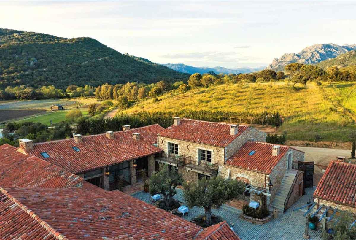 Hôtel de la ferme - Domaine de Murtoli - Corse du Sud